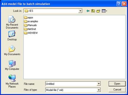 Batch Simulation